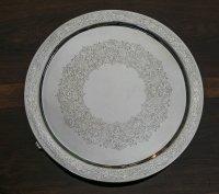 純銀製(925)1881年Martin, Hall & Co 美彫ハンドエングレービング ラージサルヴァ