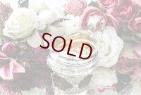 純銀製(925) 1825年 ロココ風 お花とスクロール クリームジャグ